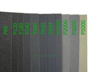 Schleifpapier wasserfest, 230 mm x 280 mm, Körnung...