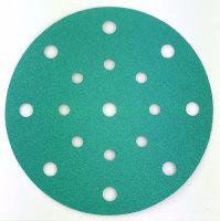 Schleifpapierscheiben 17-Loch 150 Keramik