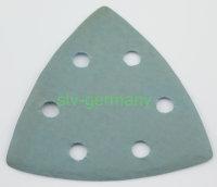 Schleifpapier Dreieckschleifer für Deltaschleifer 6-Loch
